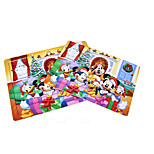 Jigsaw Puzzles Building Blocks DIY Toys 24 Wood Rainbow