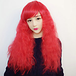 Lolita Wigs Sweet Lolita Lolita Curly Red Lolita Wig 70 CM Cosplay Wigs Wig For Women