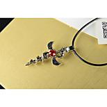 Муж. Ожерелья с подвесками Крестообразной формы Нержавеющая сталь Искусственный бриллиант СплавГеометрический По заказу покупателя Мода