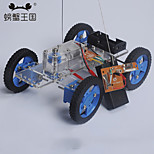 Crab Kingdom Gearbox Steering Car Model 81 Handmade Toys DIY Make Assembly Materials package