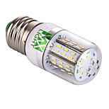 YWXLight E27 4W 48 SMD 3014 350-450 LM Warm White / Cool White Corn Bulbs AC/DC 12 - 24 V