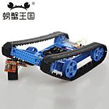 Crab Kingdom DIY Assembling Toy Combination With Remote Control High Torque Motor Cross - Barrier Crawler Car No. 29