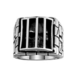 New Fashion Brand Men Rings 316L Stainless Steel Jewelry Rings 3D Skull Cage Prison Skeleton Punk Vintage Rings