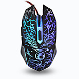 Gaming Mouse USB 800/1200/1600/2400 DPI Estone X5