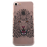 For iPhone 7 7 Plus 6S 6 Plus SE 5S Case Cover Cheetah Pattern High Permeability Painting TPU Material Phone Case