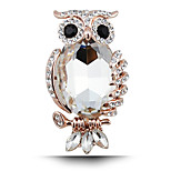 Women's Fashion Alloy/Rhinestone/Crystal Brooch Chic Pin Party/Daily/Casual Animal Shape Jewelry 1pc