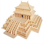 Jigsaw Puzzles Wooden Puzzles Building Blocks DIY Toys The Hall of Model Harmony 1 Wood Ivory Model & Building Toy