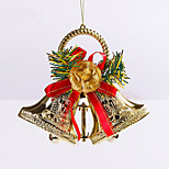2Pcs Christmas Decoration Gifts Role Ofing Christmas Tree Ornaments Christmas Gift Hang ActThe Role Of Bell