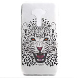 For ASUS Zenfone 3 ZE552KL Zenfone 3 ZE520KL Case Cover Cheetah Pattern High Permeability Painting TPU Material Phone Case