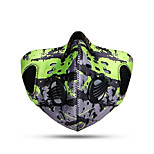 Sports Bike Cycling Pollution Protection Mask Breathable  Windproof  Anatomic Design  Dust Proof SBR  Mesh NetLeisure Sports