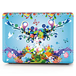 For MacBook Pro 13 15 Case Cover Polycarbonate Material Flower Sexy Lady