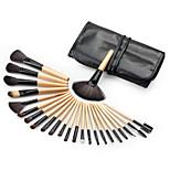 Woman's 24pcs Makeup Brush Sets Professional Cosmetics Brushes Eyebrow Powder Foundation Creams Maquiagem Make Up Tool