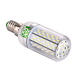 YWXLight E14 7W 120 SMD 3014 550-650 LM Warm White / Cool White Corn Bulbs AC/DC 24 V