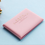 Travel Passport Holder & ID Holder Waterproof / Dust Proof / Portable Travel Storage PU Leather