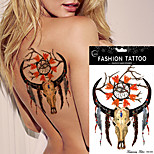 5Pcs  Dreamcatcher Decal Waterproof DIY Tattoo Sticker Women Men Body Art  Dream Catcher Indian Feather Temporary Tattoos