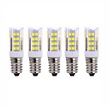5 PCS E14 51 Smd2835 Led 5 w 850 lm AC220 Warm White Neutral White Small Ceramic Corn Lamp