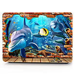 For MacBook Pro 13 15 Air 11 13 Case Cover Polycarbonate Material Animal Cartoon