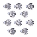 10Pcs YWXLight GU10 4W SMD 3030 300-400 LM Warm White / Cool White LED Spotlight AC 85-265V
