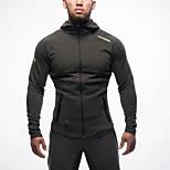 Men Outdoor Sports Gym Shirt Leisure Coat Running Hoodie Cardigan Casual Hoody Fashion Street Sweater Top Hip Hop Outwear Clothing