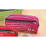 The Large Capacity Big Zipper Contracted Pen Bag