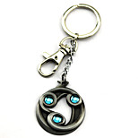Inspired by Anime Dota2 Cosplay Accessories Keychain Golden / Silver Alloy