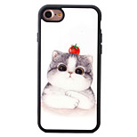For iPhone 7 7plus 6S 6plus SE 5S 5 iPhone Case Cover Cat Pattern TPU Material