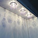 Modern Crystal LED Ceiling Light Fixture Chandelier in Pink Color