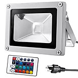 kwb 10W Waterproof LED Flood Light with  Remote RGB(85-265V)