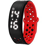 NONE Smart Bracelet Water Resistant/Waterproof Long Standby Calories Burned Pedometers Sports Alarm Clock Wearable iOS Android
