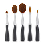 5 Contour Brush / Makeup Brushes Set / Lip Brush / Concealer Brush / Powder Brush / Foundation Brush / Other Brush NylonProfessional /