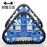 Crab Kingdom DIY Technology With Remote Control High-torque Assembly Toy Triangular Crawler Chariot 27