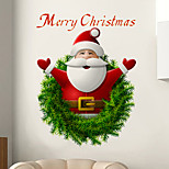 Christmas Wall Stickers Plane Wall Stickers / 3D Wall Stickers Decorative Wall Stickers,PVC Material Removable Home Decoration Wall Decal