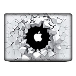 For MacBook Air 11 13/Pro13 15/Pro with Retina13 15/MacBook 12 Broken Hole Decorative Skin Sticker