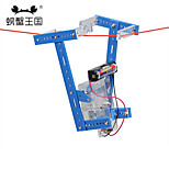 Crab Kingdom Technology Small Production of Small Inventions DIY Lanyard Climbing Robot 67 Handmade Material Bag