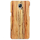 KARZEA Cane Stripes Pattern PC and PU Leather Back Case with 3D Stereoscopic for One Plus3