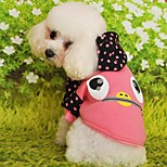 Keep Warm Lovely Cartoon Patterns Pet Coat