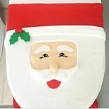 Papá Noel tapa del inodoro ojos de pez 43 * 33cm