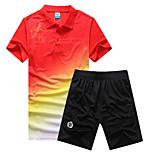 Corsa Set di vestiti/Completi Per donna Maniche corte Traspirante / Asciugatura rapida Attività ricreative / Corsa SportivoAbbigliamento