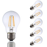 3.5W E26 LED Filament Bulbs A17 4 COB 350 lm Warm White Dimmable 120V 6 pcs