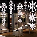 1Pcs Christmas Decorations High Quality Three-dimensional Plane Snowflakes String