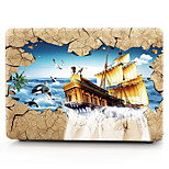 For MacBook Pro 13 15 Case Cover Polycarbonate Material Ship Scenery