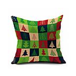 Merry Christmas Series Cartoon Cotton Linen Throw Pillow Case Home Decorative  Cushion Cover Pillowcase(Set of 1)