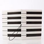 Travel Passport Holder & ID Holder Waterproof / Dust Proof / Portable Travel Storage PVC The Piano Keys