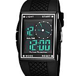Men's Sport Watch Fashion Watch Wrist watch Digital Watch Digital LED Water Resistant / Water Proof Dual Time Zones Alarm Rubber BandCool