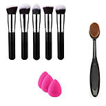 Professional Daily Foundation Face Powder Makeup Brushes Blusher Contour