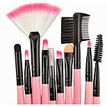 24 Sonstige Pinsel Künstliches Haar Berufs / vollständige Bedeckung / Synthetik / Transportabel Plastik Gesicht / Auge / Lippe Andere