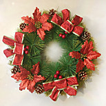 Christmas Tree Decorations  Of  Wreath