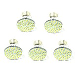 5 PCS E27 led 60 SMD2835 AC220V / 110 v 800 Lm Warm White Neutral White Lamp Cup Other