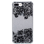 Para IMD / Estampada Capinha Capa Traseira Capinha Flor Macia TPU AppleiPhone 7 Plus / iPhone 7 / iPhone 6s Plus/6 Plus / iPhone 6s/6 /