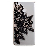 For Huawei P9 P9Lite Case Cover Skull Flower Pattern High Permeability Painting TPU Material Phone Case